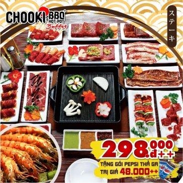 Hệ Thống Buffet Chooki BBQ & Hotpot - Khai Trương Chi Nhánh Vincom