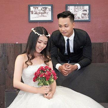 Chụp Ảnh Thử Làm Cô Dâu Phong Cách Hàn Quốc - Phim Trường Mariage Étrange