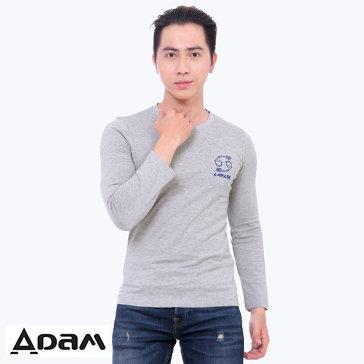 Áo Thun Nam Cổ Tròn Dài Tay - TH Adam