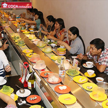 Buffet Lẩu Băng Chuyền Hơn 40 Món Tại Coca Suki Restaurant