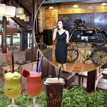 Café Lối Xưa Ưu Đãi Giá Thức Uống + Thưởng Thức Nhạc Acoustic...