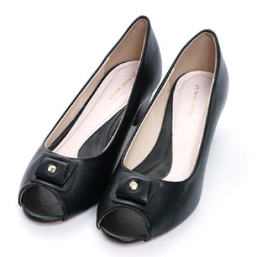Giày Búp Bê Hở Mũi
