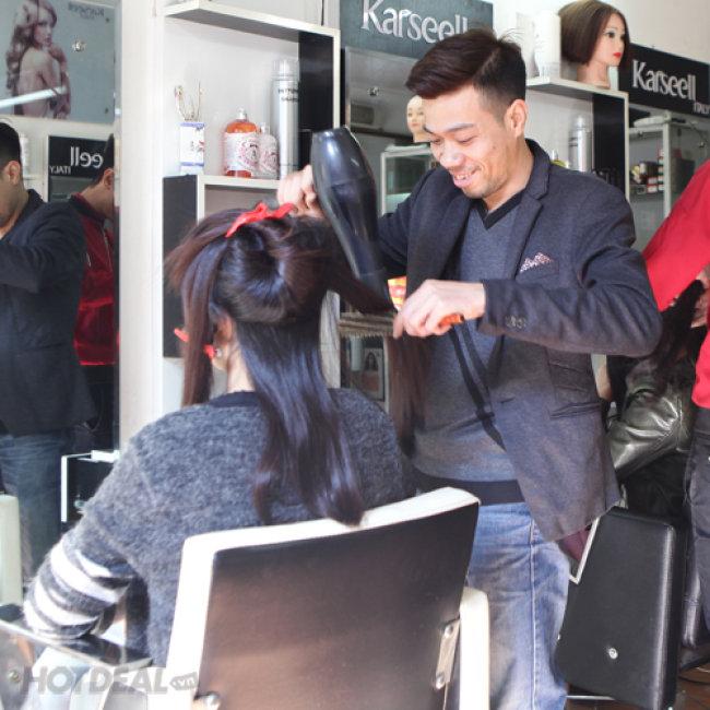 Trọn Gói Làm Tóc Đẹp Hiện Đại, Không Ngại Hư Tổn Tại Salon...