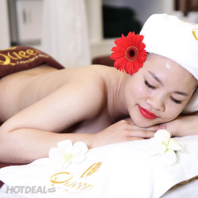 Massage Body Shiatshu Nhật Thảo Dược Và Đánh Bóng Sáng Da Toàn...