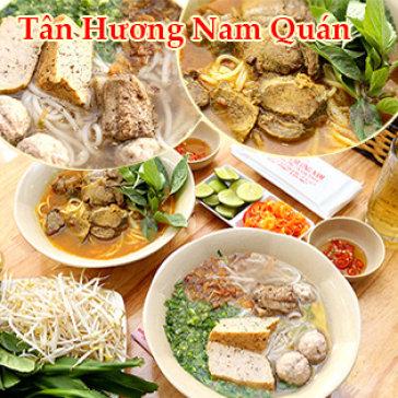 Combo 2 Bún Bò Cay Bạc Liêu/ Bún Mọc Tô Lớn + 2 Trà Lạnh + 2 Khăn - Tân Hương Nam