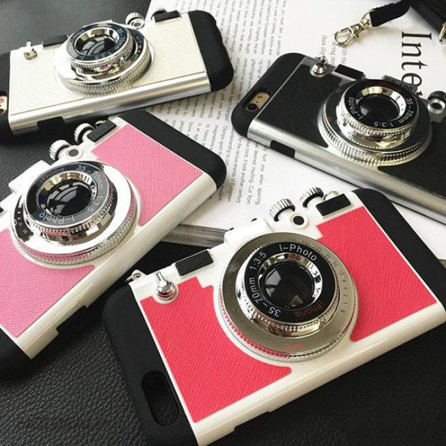 Ốp Lưng Máy Ảnh Cho Iphone 7 Đẹp Độc