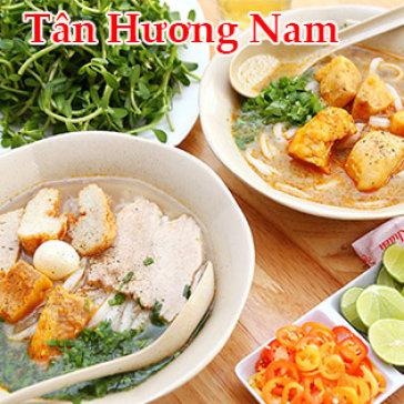 Combo 2 Bánh Canh Bột Gạo Cá Lóc Tô Lớn + 2 Trà Lạnh + 2 Khăn - Tân Hương Nam