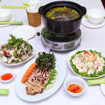Thưởng Thức Hải Sản Và Ba Ba Om Chuối Đậu Cho 04 Người Tại...