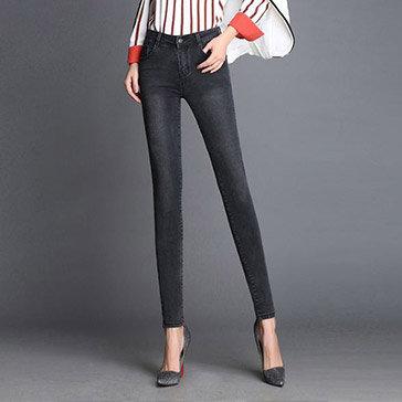 Quần Jeans Nữ Dạo Phố Thời Trang 512