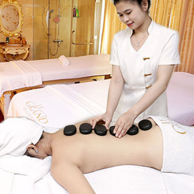 Luxury Massage Body + Steambath + Sauna - Grand Hotel Saigon 5* Sang Trọng...