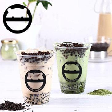 Hệ Thống 3 CN Boo Coffee - Combo Tự Chọn Trà Sữa Size Lớn + Topping