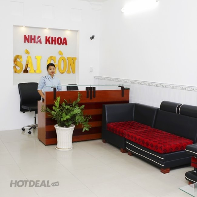 Cạo Vôi Đánh Bóng/ Trám Răng Thẩm Mỹ Tại Nha Khoa Sài Gòn