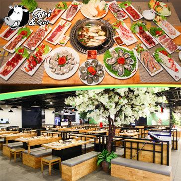 Gri &Gri Buffet Lẩu Và Nướng Menu Cao Cấp - Royal City Vincom Mega Mall