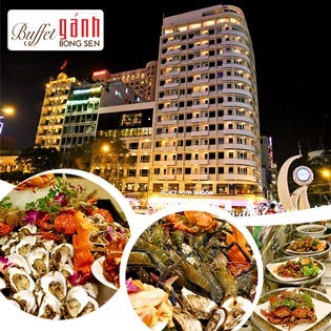 Buffet Gánh Bông Sen Buổi Tối Tại Khách Sạn Palace Saigon 4*