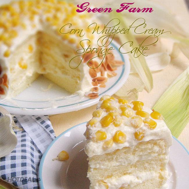 Bánh Kem Bắp (1.5 Tấc*5) Đặc Biệt Thơm Ngon Tại Green Farm
