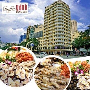 Buffet Gánh Bông Sen Buổi Trưa Tại Khách Sạn Palace Saigon 4*
