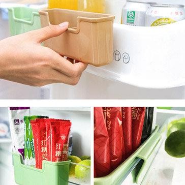 Combo 2 Khay Treo Tủ Lạnh 4 Ngăn Tiện Dụng