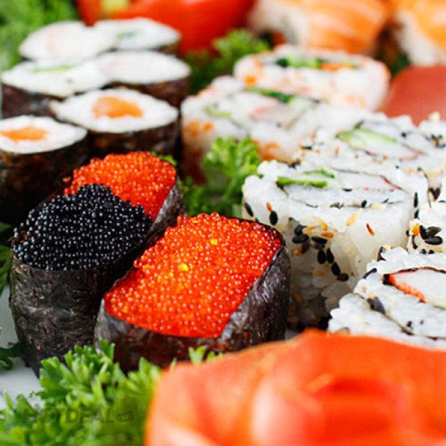 Buffet Trưa Lẩu Nhật, Hải Sản & Bò Mỹ, Free Buffet Kem Fanny, Tráng...