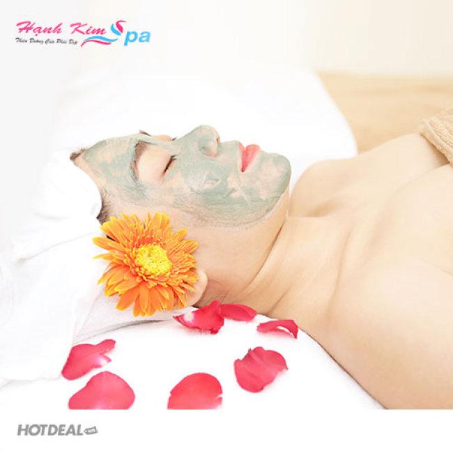 (75') Massage Body Chuyên Sâu + Đá Nóng + Chăm Sóc Da Mặt + Đắp...