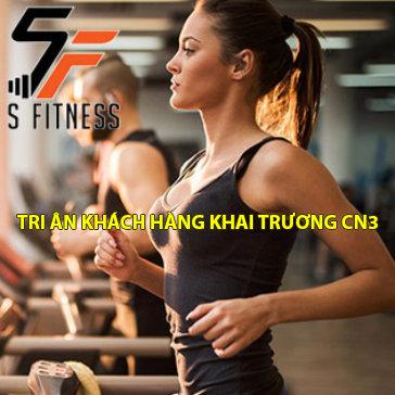 S Fitness - 4 Tuần Tập Gym, Yoga Không Giới Hạn Trong Không Gian Sang Trọng & Máy Móc Hiện Đại