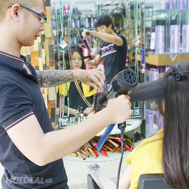 Salon Đức Quyết - Trọn Gói Làm Tóc Cao Cấp Bằng Alonzo, Divina,...