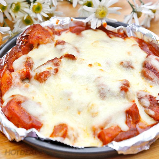 Set Gà Nướng Phomai + Pizza Và Các Món Ăn Kèm Cho 2-3 Người Tại...
