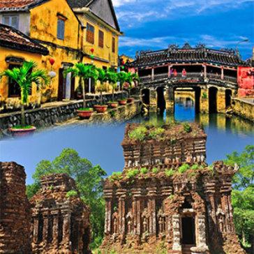 Tour Thánh Địa Mỹ Sơn - Làng Gốm Thanh Hà - Làng Mộc Kim Bồng - Tham Quan Phố Cổ Hội An 01 Ngày - Cho 01 Người