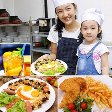 Trọn Gói Khóa Học Nấu Ăn, Pha Chế Cho Bé (5 – 15 Tuổi) Với Đầu Bếp & Batender – NH Sân Thượng Quận 1