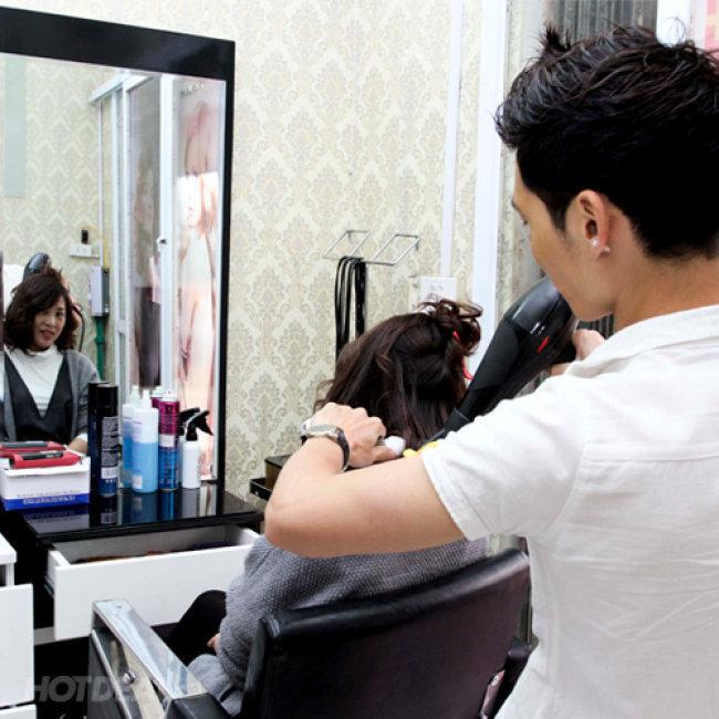 Dịch Vụ Cắt/Gội/Hấp Phục Hồi 08 Bước Đạt Chuẩn Tại Salon...
