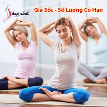 4 Tuần Tập Yoga, Aerobic, Aerobic Dance Giảm Cân Đặc Biệt - Không Giới Hạn Buổi Tập Tại Dáng Xinh