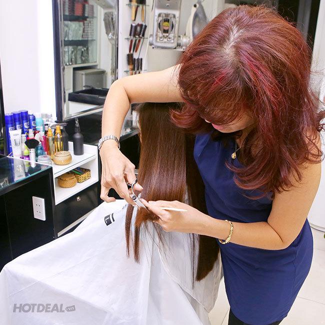 Hair Salon Vy - Trọn Gói Làm Tóc Cao Cấp Bằng L'Oreal, INOA - Tặng...