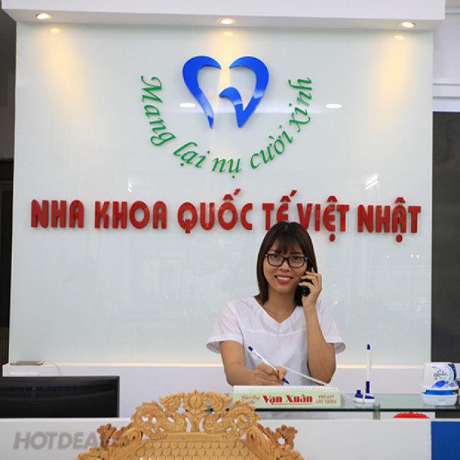 NK Quốc Tế Việt Nhật - Hàn 1 Răng + Chấm Thuốc Viêm Lợi + Lấy...