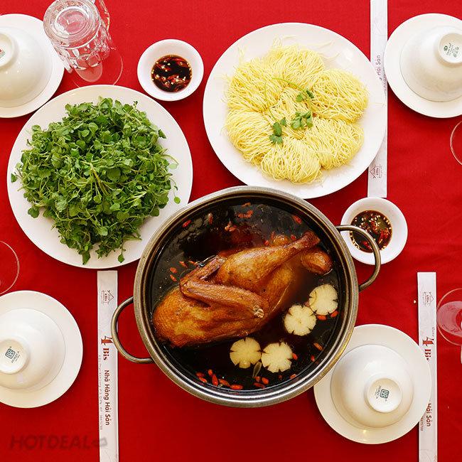 Lẩu Vịt Tiềm Bát Bửu 1.2kg Ngon Thượng Hạng Cho 04 Người Tại...