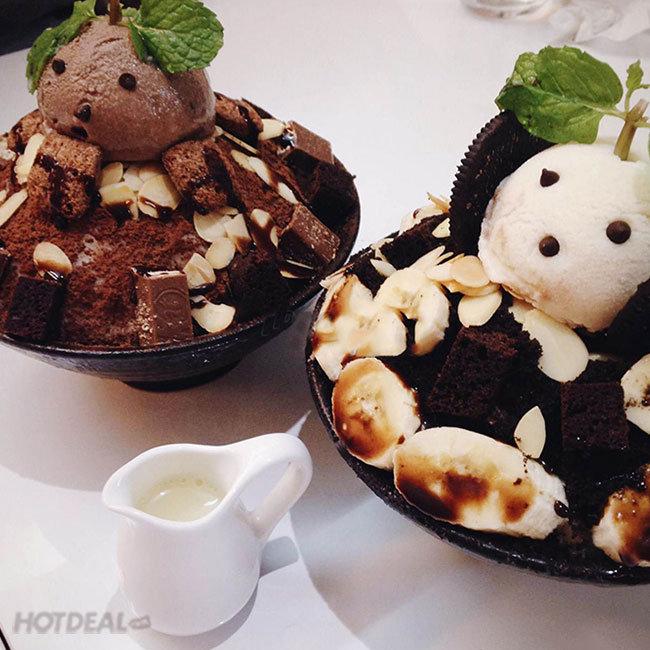 Bingsu Hàn Quốc Tự Chọn Cực Ngon Cho 2 Người - Oia Castle Coffee And...