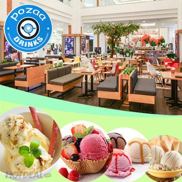Buffet Kem Nhiều Vị Tại Yotea / Pozaa Royal City Và Vincom Phạm Ngọc Thạch
