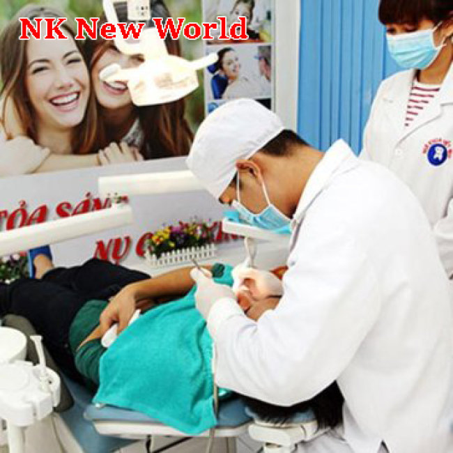 Nha Khoa New World - Tẩy Trắng Bleachbright Không Ê Buốt Bao Gồm Cạo...