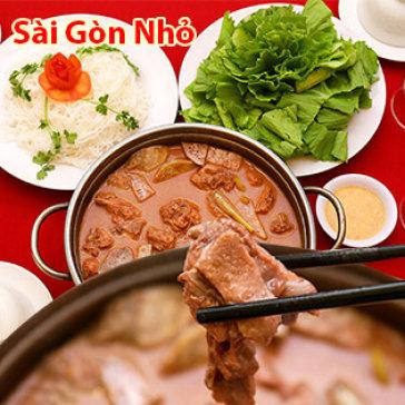 Lẩu Vịt Nấu Chao 1.2kg Siêu Ngon Cho 04 Người Tại Nhà Hàng Sài...