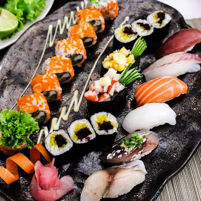 Buffet Trưa/ Tối 100 Món Nướng, Lẩu, Sashimi, Sushi Tại Sushi Dining...