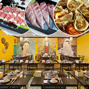 Buffet Món Việt & Lẩu Đẳng Cấp NH Little Việt Nam - Tòa Nhà Lotte