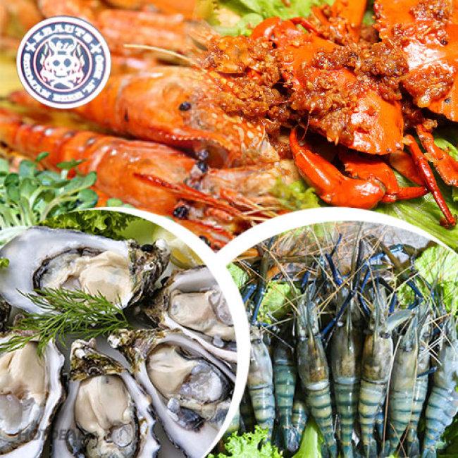 Buffet Tối Nướng & Lẩu Hải Sản Trên 50 Món Gọi Tại Bàn - Nhà...