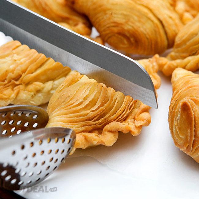 Hộp 5 Bánh Crep Nhân Cà Ri Gà Đặc Biệt Tại Bánh Quế Hương Vị...