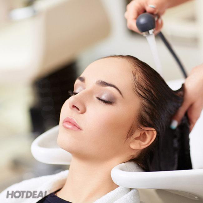 Trọn Gói Làm Tóc Tặng Thẻ Hấp Trọn Đời Tại Hair Salon Nga...