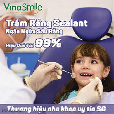 Trám Răng Sealant Phòng Trừ Sâu Răng Cho Trẻ Em Tại Nha Khoa Vinasmile