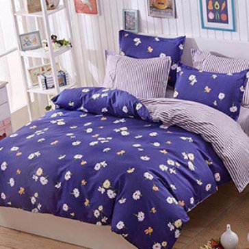 Bộ Drap Gối Cotton Polyester HQ 1.6M BST01 TH Lys At Home