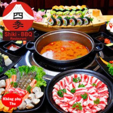 Buffet Lẩu Nhật Bản Hấp Dẫn Tại Nhà Hàng Shiki BBQ
