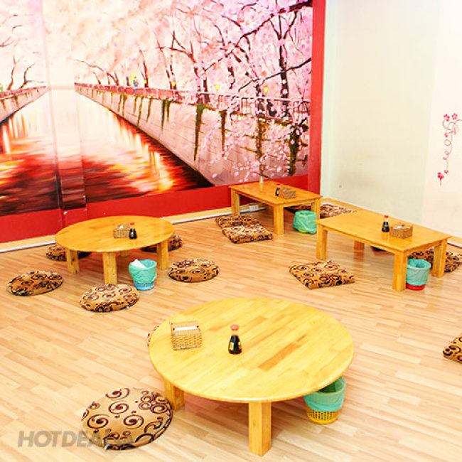 01 Trong 2 Combo 6 Loại Sushi Dành Cho 1 Người Tại Shinsen Sushi