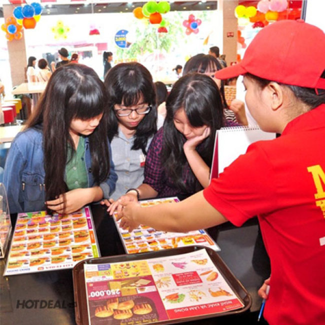 DEAL HOT: Hệ Thống Lotteria - Combo Best Seller Cho 2 Người Ăn Thả Ga,...