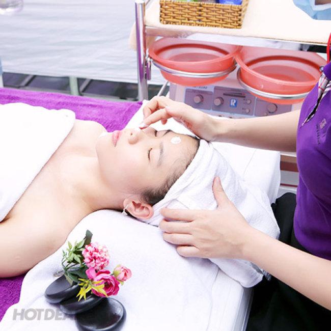 Vy Lam Beauty Spa - Chăm Sóc Da Mặt Serum Eldas Kết Hợp Điện Di...