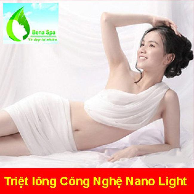 10 Lần Triệt Lông Vĩnh Viễn Nách/ Mép/ Body- KHông Đau, Rát - BH 2...