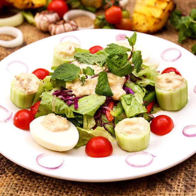 Set Nướng + Salad Tự Chọn Cho 2 Người - Miễn Phí Trái Cây - Nhà...